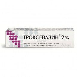 Троксевазин, гель 2% (40 г) Балканфарма - Троян АД