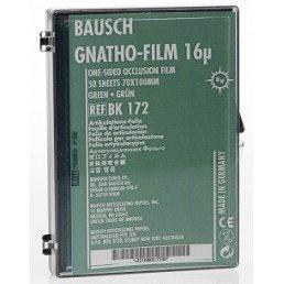Копирка фольга BAUSH 16мик. ВК172 прямая (50 листов) зеленая односторонняя (100мм*70мм)
