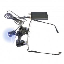 Бинокулярная лупа (3.5х - 420) с подсветкой
