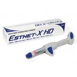 Estet X HD, цвет D2 (1шпр 3гр) - улучшенный микроматричный композит, Dentsply  (Эстет Икс)