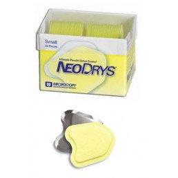 ДрайТипсы Зеркальные Small желтые (50 шт)