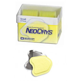 ДрайТипсы Зеркальные Small желтые (50 шт) Microcopy (США)