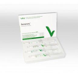 Белагель О Набор 30% (5 мл+5 мл+5 мл+5 мл) Набор гелей для отбеливания и реминерализации зубов, ВладМиВа
