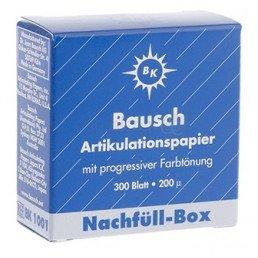 Копирка бумага BAUSH 200мик. ВК1001 прямая синяя (300листов)