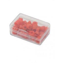 Маркировочные кольца для инструмента, красные, упаковка 50 шт.