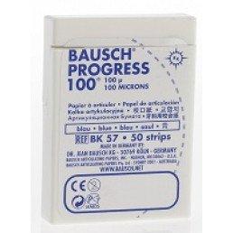 Копирка бумага BAUSH 100мик. ВК57 прямая синяя (50листов)