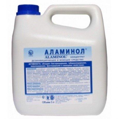 Аламинол (3л) Концентрат. Моюще-дезинфицирующее средство широкого применения НИОПИК