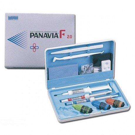 Панавиа 2.0 набор Цвет White (Пасты 5гр+4,6гр, праймер 2*4мл, изол.гель 6мл, аксессуары) - Цемент двойного отверждения, Kuraray Noritake Dental Inc. (Panavia F 2.0 KIT)