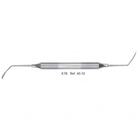 40-10 Распатор для синус-лифтинга K78, ручка DELUXE, ø 10 mm