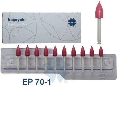 Enforce Pin КОНУС (Красный - Средний) (10шт) Kagayaki (Кагаяки)