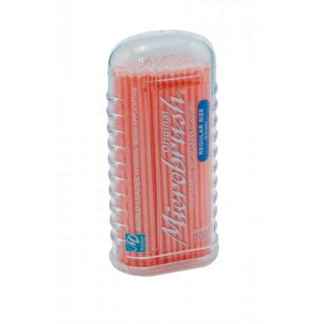 Аппликаторы МикроБраш Регуляр большие(оранжевые/синие/фиолетовые) 100шт